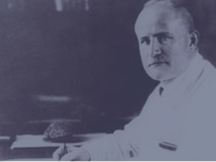 German physiologist and psychiatrist Hans Berger is credited with recording the first human EEG brainwaves in 1924