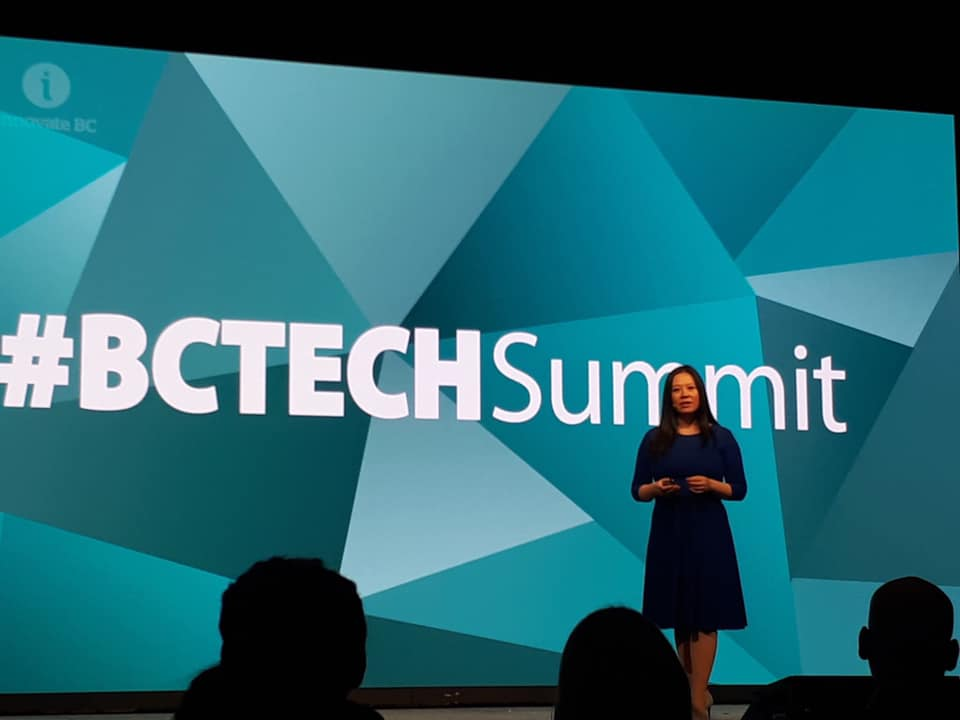 Tan Le at BC Tech Summit