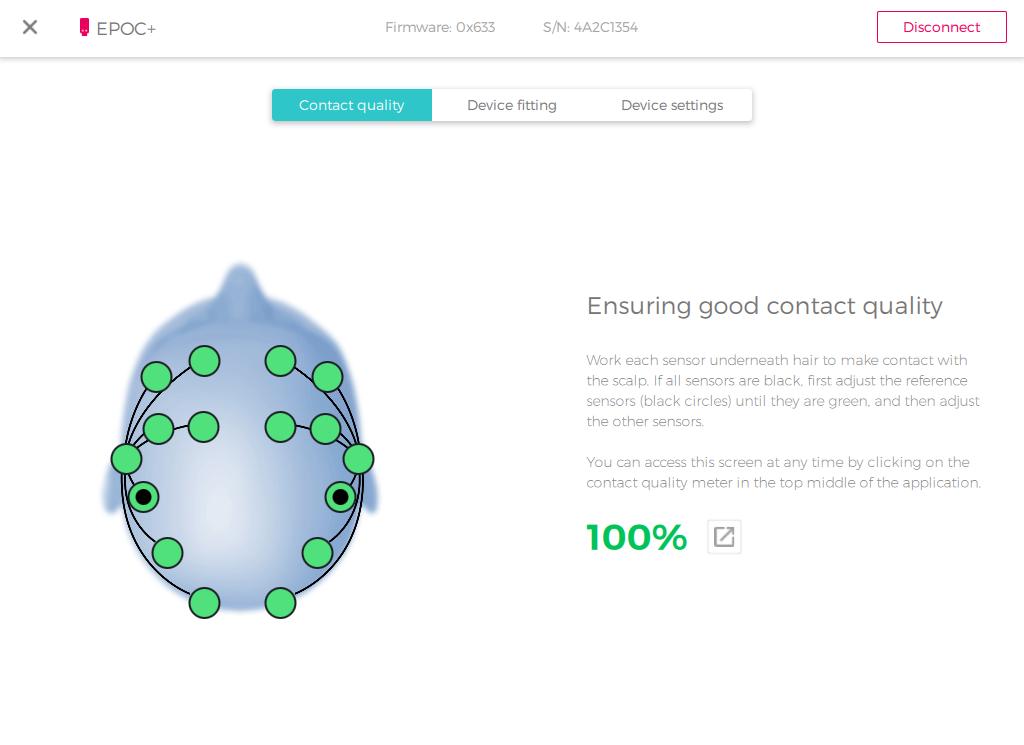 cortex ui contact quality